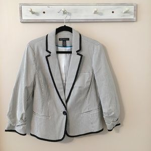 International Concepts Pinstripe Jacket